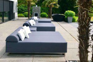 lounge ligbedden buiten