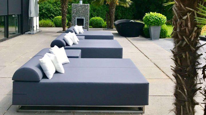 Lounge ligbedden buiten, optimale rust!