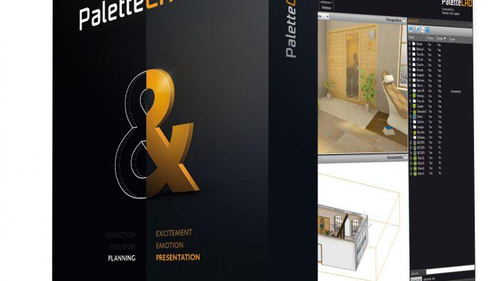 PaletteCAD, een inrichten badkamer programma